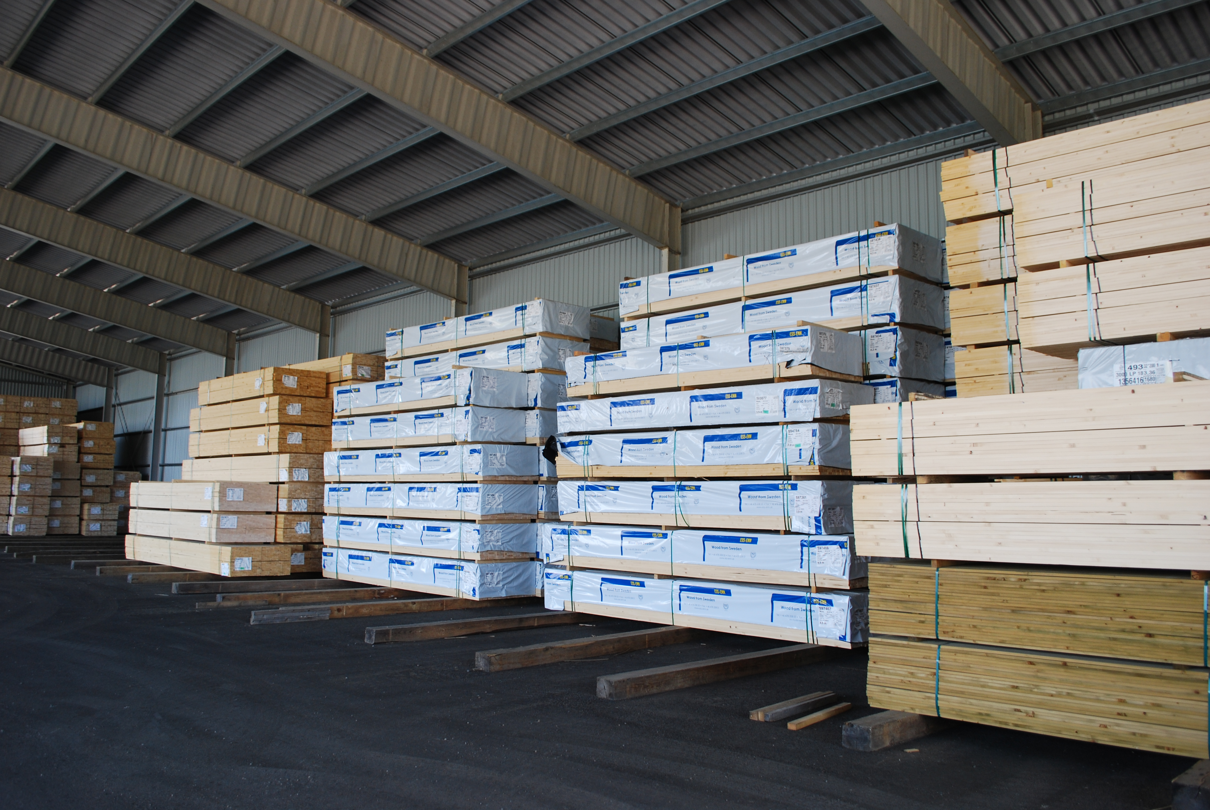 stock Planed timber products